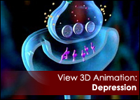 3D animation on Depression