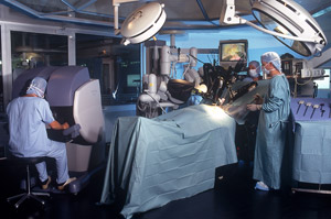 da Vinci® Surgical System in OR
